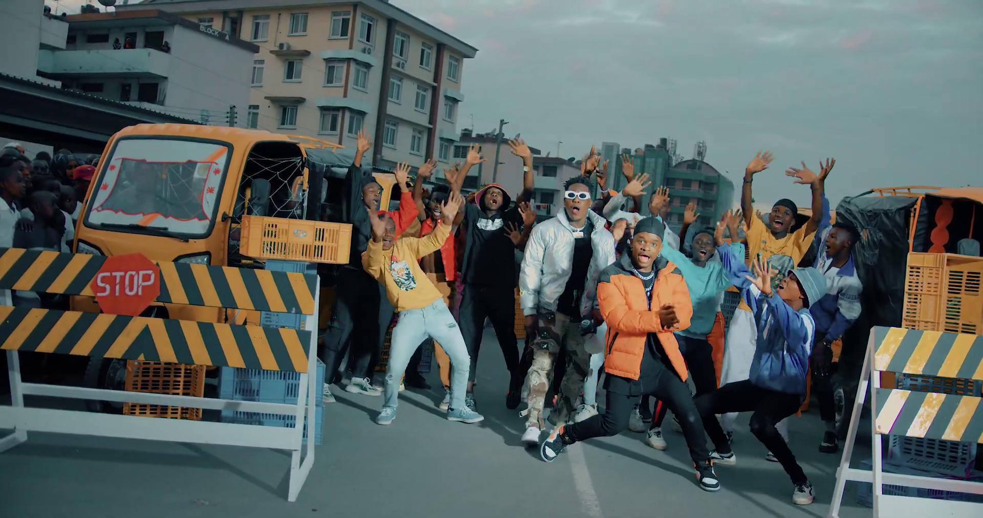 VIDEO   Whozu X Baddest 47 - AAH WAP!! - DJ Mwanga