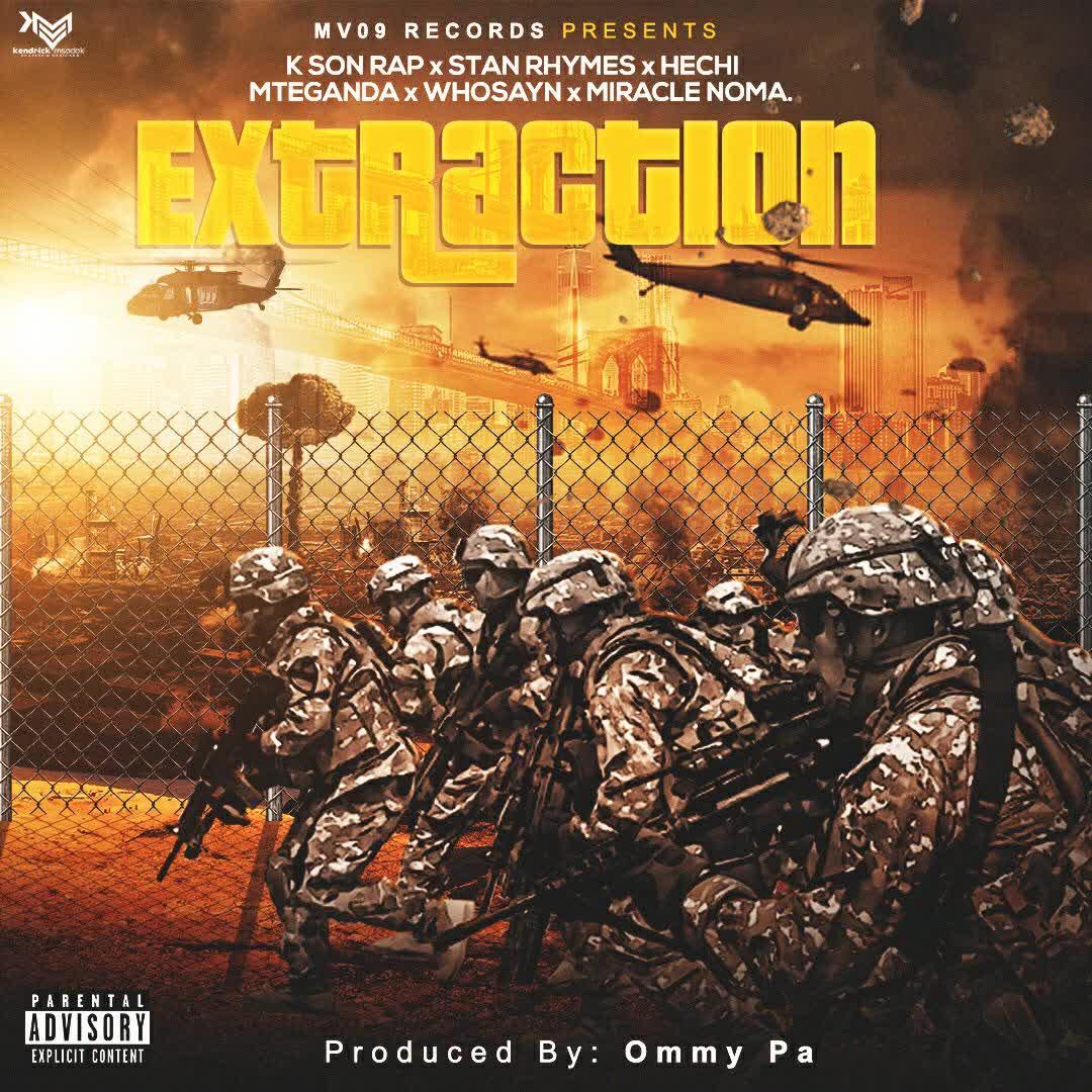 AUDIO | Ksonrap x Stan Rhymes x Hechi x Mteganda x Whosayn x Miracle Noma - Extraction | Download